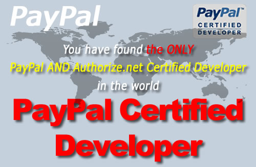 Pay Pal Certified Developer