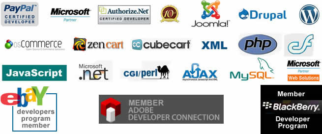 Programming Skills include - PayPal, Authorize.net, Joomla, Drupal, WordPress, osCommerce, Zen cart. Cubecart, XML, PHP, Flash, JavaScript, CGI/Perl, Ajax and MySQL
